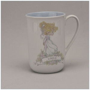 """Precious Moments Cup """"Karen""""  Personalized Name"""